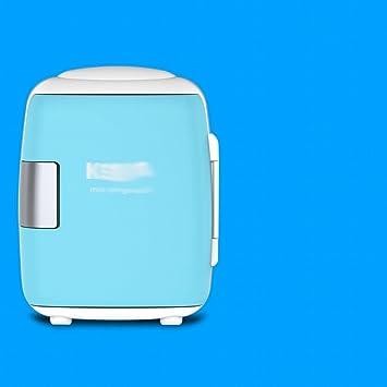 8l frigo de voiture dortoir mini voiture maison double tudiant epoque de lait maternel mini rfrigrateur conglateurbleu8l amazonfr cuisine maison - Frigo Bleu