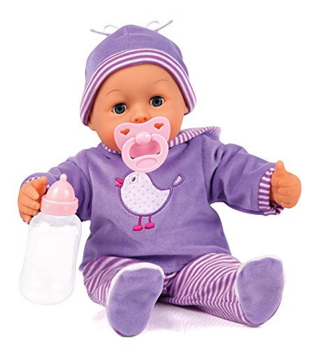 Bayer Design 93817 - First Words Baby Puppe, 38 cm
