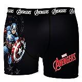 Marvel Herren Boxershort, 6 verschiedene MEGA-Designs in allen Größen, Hulk, Iron Man, Captain America (Cpt. America1, XL/7/52)