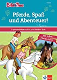 Bibi & Tina: Pferde, Spaß und Abenteuer! 2 spannende Geschichten plus Hufeisen-Quiz: Erstleser (Lesen lernen mit Bibi und Tina)