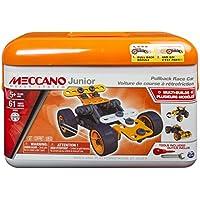 Mecano - 6027720 - Mallette coche tire hacia atrás Meccano junior