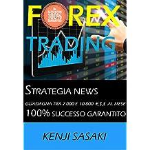 FOREX TRADING STRATEGIA GUADAGNA TRA 2.000 E 10.000 €, $, £ AL MESE: Strategia NEWS, Trader con Oltre 40 Anni di Esperienza