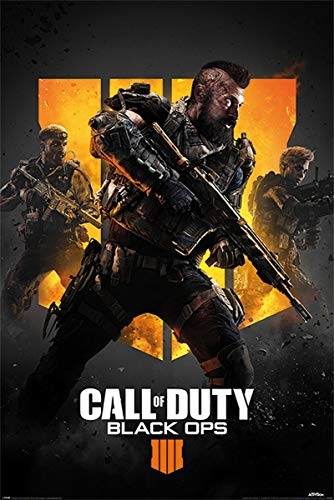 Póster Call of Duty Black Ops 4 - Trio 61cm x 91