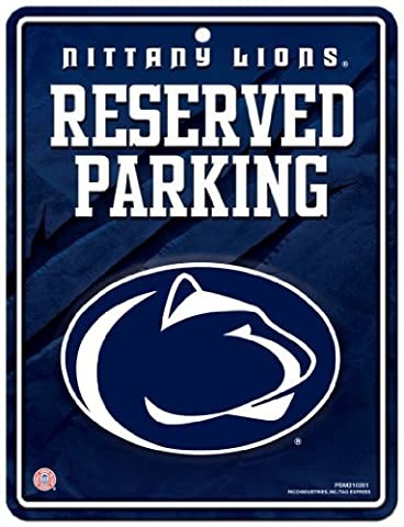 NCAA Penn State Nittany Lions Hi-Res Metal Parking Sign