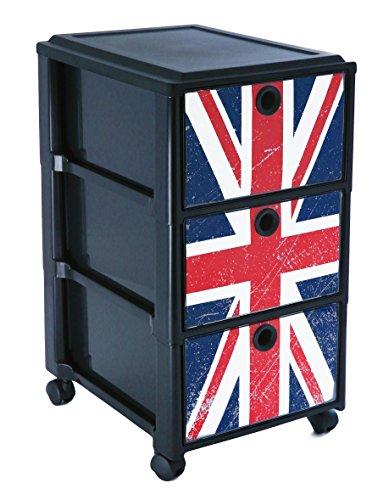 Sundis-4540080868-Rollcontainer-mit-3-Schben-aus-Kunststoff-PP-mit-attraktivem-Motiv-Schbe-in-DIN-A4-Format-individuelles-Motiv-mglich
