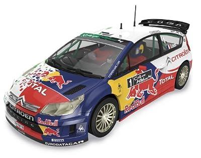 "Scalextric Original - Citroën C4 WRC ""Hybrid"" Loeb - coche slot analógico (A10117S300) de Fábrica de Juguetes"
