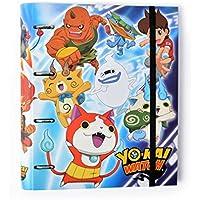 Grupo Erik Editores Carpeta 4 Anillas Troquelada Premium Yo-Kai Watch
