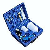 TecTake HVLP Lackierpistolen Set + Koffer - Verschiedene Modelle & Sets - (Set 400137)