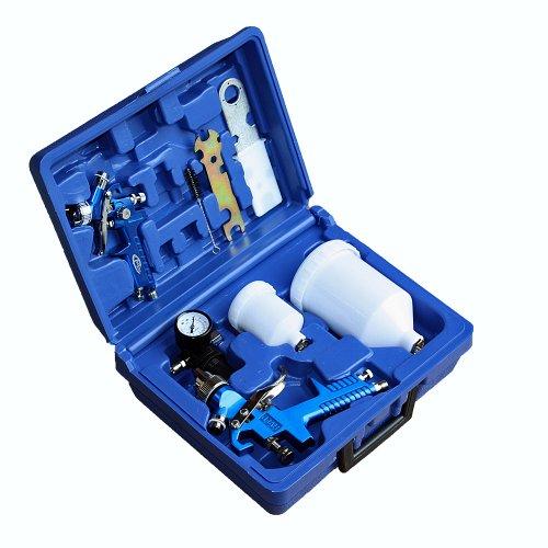 pistolen Set + Koffer - verschiedene Modelle & Sets - (Set 400137) (Becher Maske)