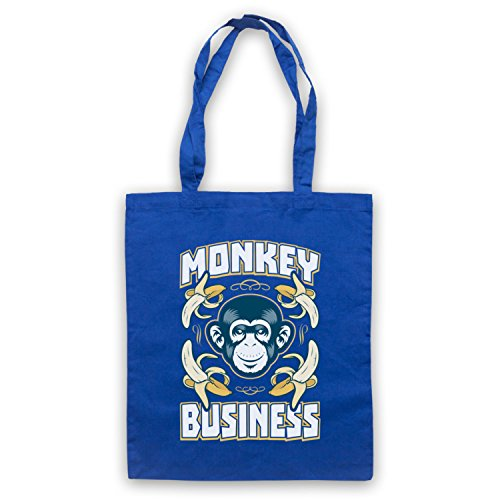 Monkey Business Funny borsa custodia Blu