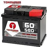 Tokohama Autobatterie 12V 60AH 580A/EN ersetzt 55Ah 56Ah 61Ah 62Ah 64Ah 65Ah