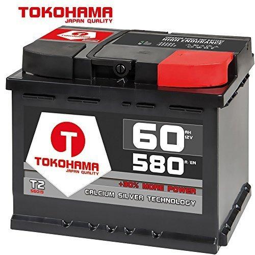Preisvergleich Produktbild Tokohama Autobatterie 12V 60AH 580A / EN ersetzt 55Ah 56Ah 61Ah 62Ah 64Ah 65Ah