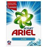 Ariel Frescor de Los Alpes Detergente en Polvo - 40Lavados