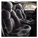 Autositz-Abdeckung for Ferrari GTC4Lusso Professionellen Handgefertigte Autos Schutz for abnehmbare Kopfstützen Combo Set mit Plüsch-Split-Bank-Sitzabdeckung Winter Frostschutzmittel und Wärme