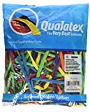 Qualatex 100 Modellierballons 260Q, Qualatex,Tropical Sortiment