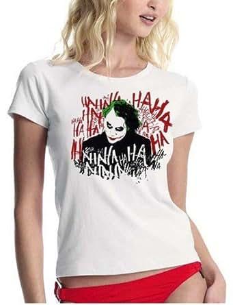 Coole Fun T-Shirts The Joker T-shirt Femme L