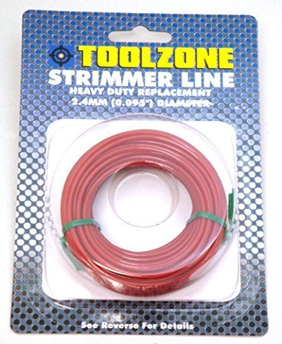 toolzone GD141 2.4 mm Strimmer Line Wire - Black Test