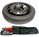 "TheWheelShop NISSAN QASHQAI (2014-PRESENT DAY) 17"" SPACE SAVER SPARE WHEEL + TOOL KIT"