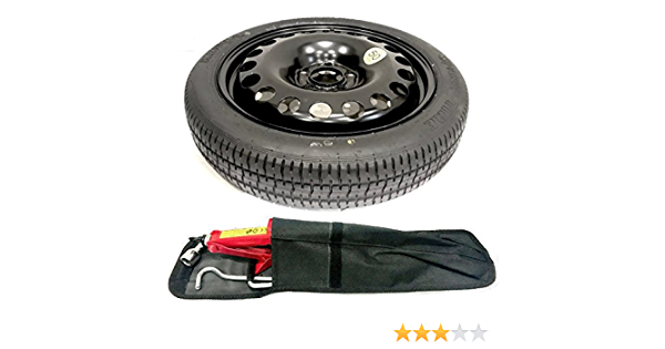 TheWheelShop 17 SPACE SAVER SPARE WHEEL AND TOOL KIT FOR VAUXHALL GRANDLAND X 2017-PRESENT DAY