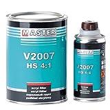 Master Troton 2K Acryl Füller Grundierung Primer HS V2007 4:1 0,8L Grau + Härter 0,2L