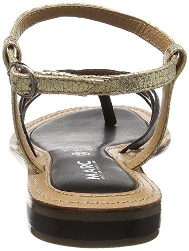 Marc Shoes - Mimi, Sandali infradito Donna Nero (Schwarz (black-combi 101))