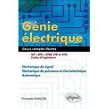 Génie électrique : Électronique du signal - Electronique de puissance et électrotechnique - Automatique