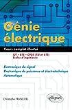 Electronique De Puissance Best Deals - Génie électrique : Électronique du signal - Electronique de puissance et électrotechnique - Automatique