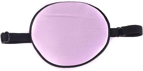 MagiDeal Kids Silk Replaceable Adjustable Corsair Eye Patch Eyeshade Light Purple