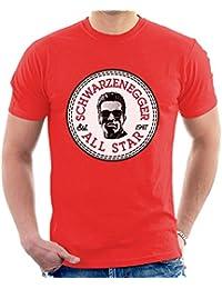 Arnold Schwarzenegger All Star Converse Logo Men's T-Shirt