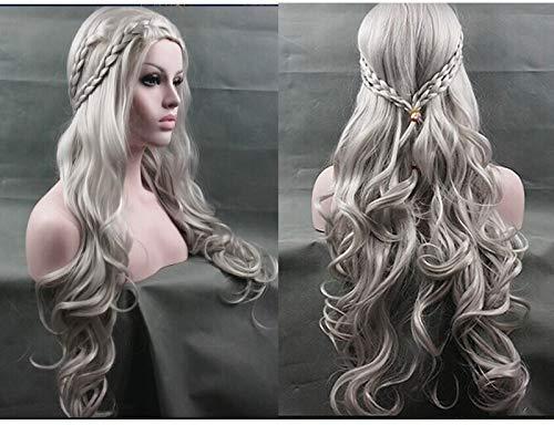 Cosplay Wig Khaleesi Daenerys Targaryen Wig Inspired By Game Thrones Costume Cosplay Synthetic Hair
