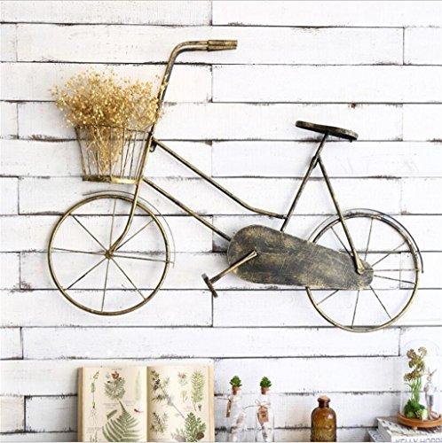 KF Europäischen Hause Kreative Fahrrad Blume Stand Wandbehang Bar Blume Shop Restaurant...