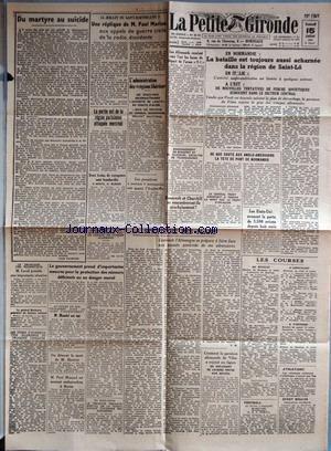 PETITE GIRONDE (LA) [No 25102] du 15/07/1944 - EN ...