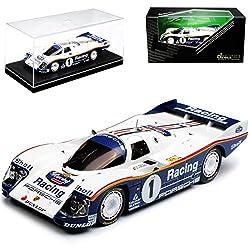 Kyosho Porsche 962 C 24H Le Mans Hans Joachim Stuck 1/43 Modell Auto