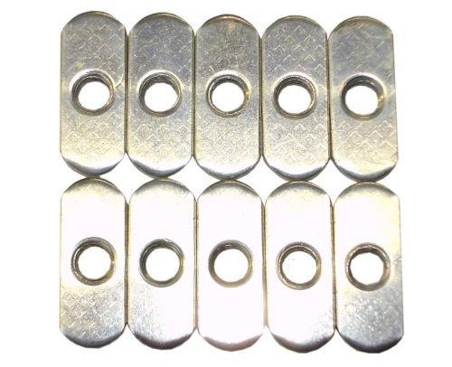 10 x T-Nutensteine für T-Nutenplatte - 15 mm - CNC gebraucht kaufen  Wird an jeden Ort in Deutschland