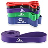 Coresteady Resistance Bands | Assisted Pull Up Band | Exercise Workout Bands for CrossFit – Powerlifting – Yoga – Stretch Mobility Exercise (One per sale) for Men and Women