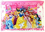 #6: Oytra PRINCESS Cartoon Metal Pencil Box / Compass Box Set with Pouch, Notebook, Pencil, Rubber, Eraser, Scale and Very Attractive Design with Hello Kitty, Princess and Spiderman Theme for Kids for Boys and Girls (Princess)