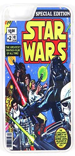 Star Wars Un nouvel espoir Vintage Comic pour (iPhone 6/6S 11,9cm Housse/étui téléphone en plastique rigide transparent