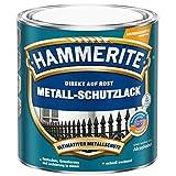 2,5 Liter Hammerite Metallschutzlack schwarz, matt