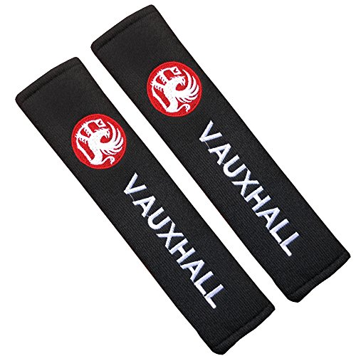 V auxhall Seat Belt Pads Seat Belt Pads for Embroidered Badge F88-086 8836df9e607