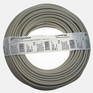 50 meter kabel leitung nym j 3x1 5 qmm mantelleitung elektroleitung 0 42 mtr baumarkt. Black Bedroom Furniture Sets. Home Design Ideas