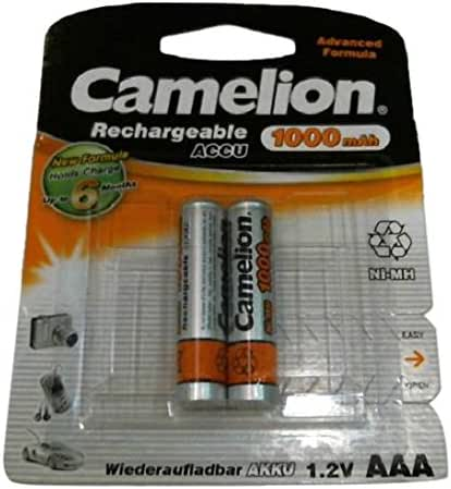 Camelion 17010203 2 accus R03 / AAA / 1000mAh sous blister