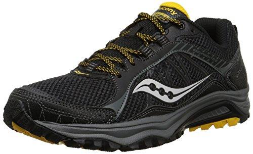 Saucony Mens Excursion TR9 Running Shoe, Black/Yellow,10.5 M US noir/jaune