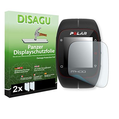Polar M400 / M430 film de protection d'écran - 2 x DISAGU Film blindé pour Polar M400 / M430 film de protection contre la casse