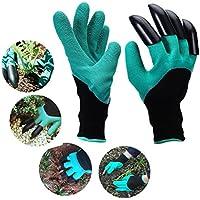 Garten Handschuhe mit Krallen, ideal für Graben Jäten Verteilen übergegangen, - Sicher für Rose Beschneiden - Beste Garten-Werkzeug - Beste Geschenk für Gärtner