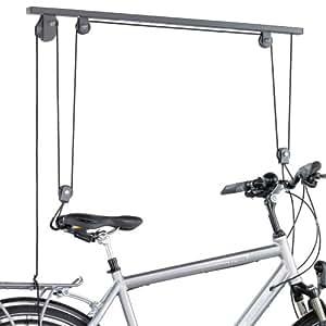 Kettler 08959-500 Support de plafond pour vélo Argenté
