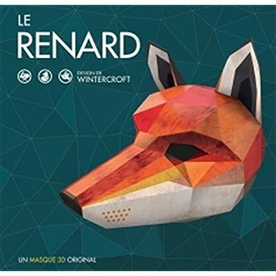 Le Renard Un Masque 3d Original Design Par Wintercroft