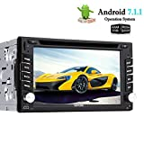 EinCar Octa Core Android 7.1 Car DVD Player 6.2'' Touch Screen Double Din