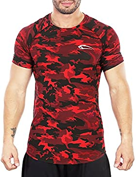 Smilodox Herren T-Shirt Soldier