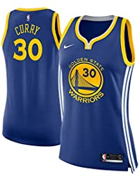 Nike GSW W NK swgmn JSY Road – Maglietta Stephen Curry Icon Edition Golden  State Warriors 592ab17bc1bc