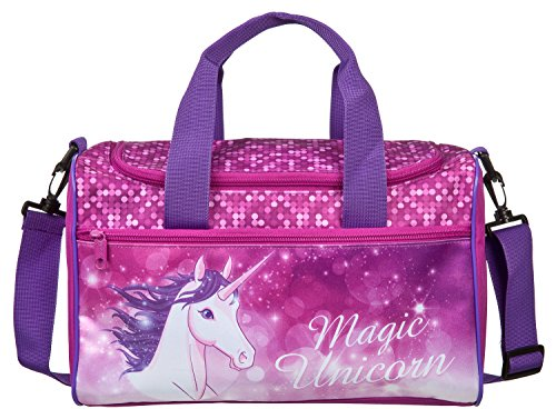 Scooli UNFI7252 Sporttasche Magic Unicorn, ca. 35 x 16 x 24 cm